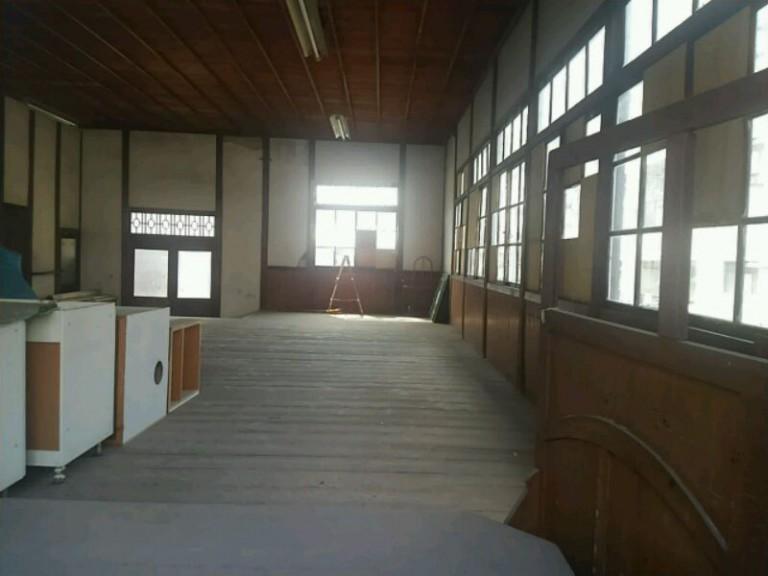 旧公民館内部