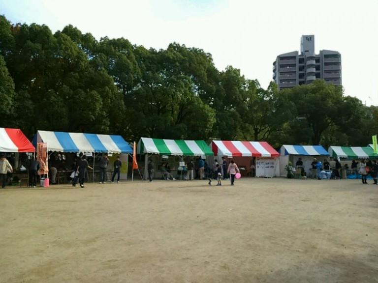 広場テント