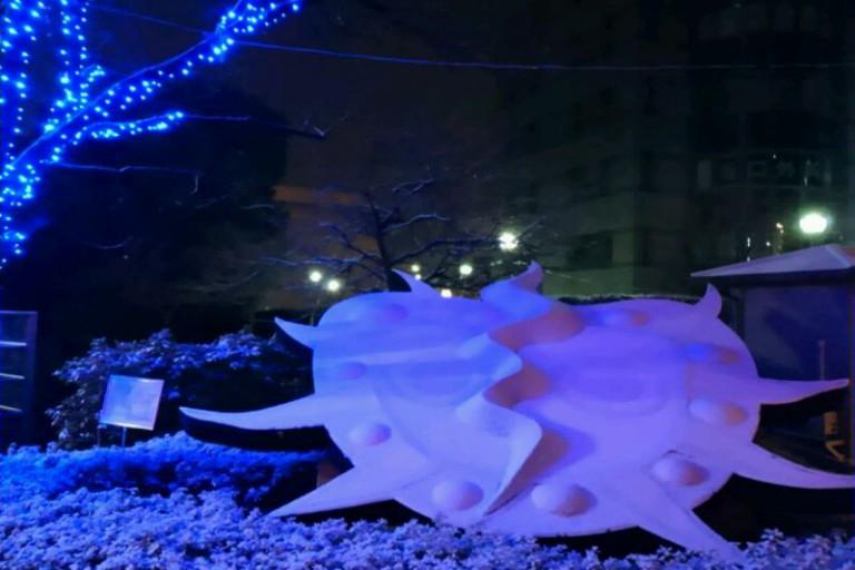 吹田の雪景色③