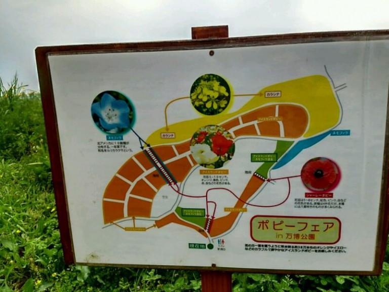 ポピーフェア地図