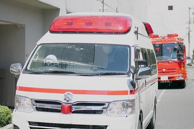 消防車 救急車
