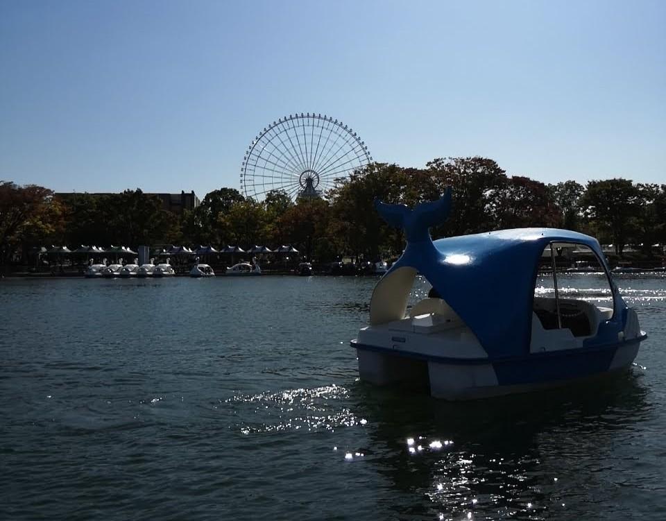 夢の池サイクルボート